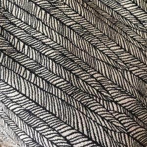 Zara Dresses - Zara black and white feather print shift dress